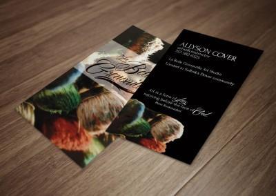 La Belle Grenouille Business Cards